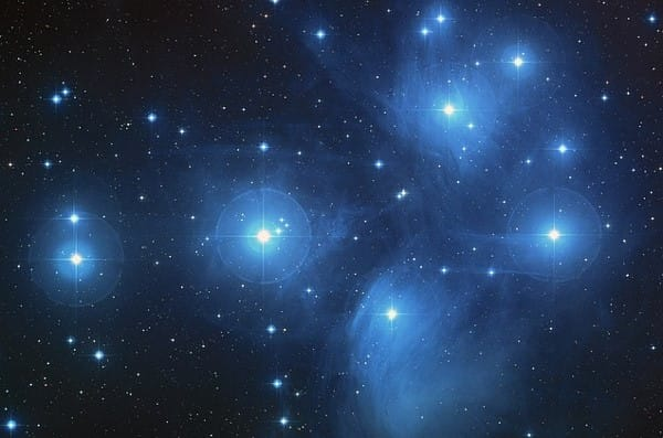 The Pleiades and the Dead Zone